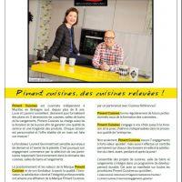 "Article dans ""Mensuel du Golfe"""